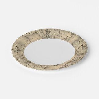 Boston 3 2 paper plate