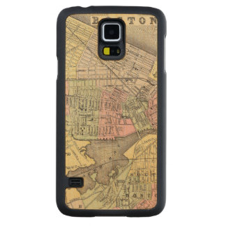 Boston 3 carved maple galaxy s5 case