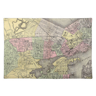 Boston 3 cloth placemat