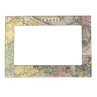 Boston 3 photo frame magnet