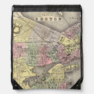 Boston 3 drawstring bags
