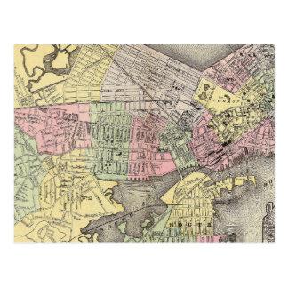 Boston 3 postcard