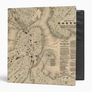 Boston 3 vinyl binder