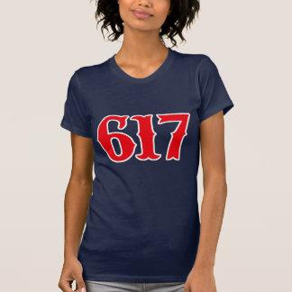 Boston 617 - ¡Boston fuerte! Camiseta