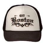 Boston 617 hats