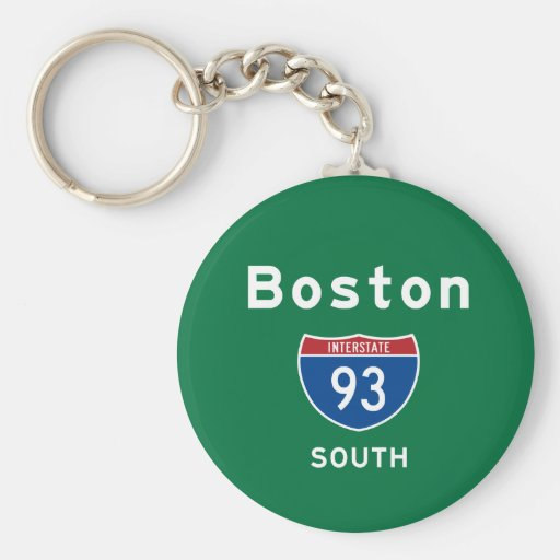 Boston 93 llavero redondo tipo pin