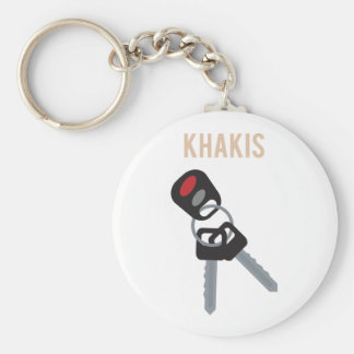 Boston Accent Car Keys Basic Round Button Keychain