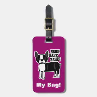 Boston Accent Terrier Bag Tag