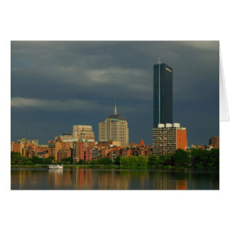 Boston afternoon greeting cards