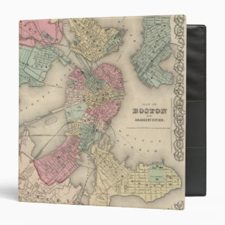 Boston and Adjacent Cities 3 Ring Binder