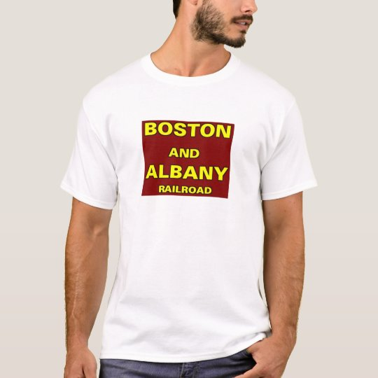 boston and albany railroad t shirt