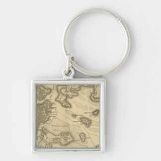 Boston and Its Environs Key Chain