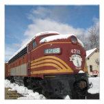 Boston and Maine Engine Photo