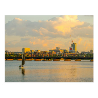 Boston and the Charles River on a Summer Afternoon Postcard
