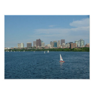 Boston and the Charles River Posters