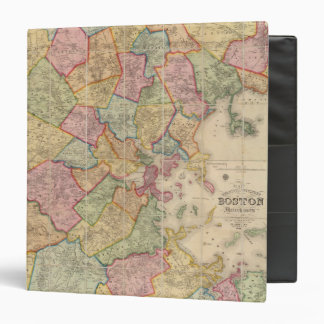Boston and vicinity 3 ring binder
