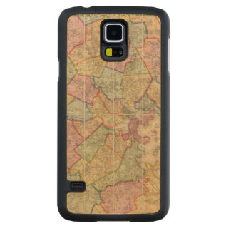 Boston and vicinity carved® maple galaxy s5 case