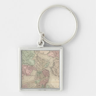 Boston and Vicinity Keychain
