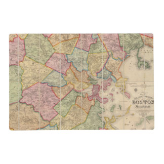 Boston and vicinity placemat