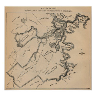 Boston Annexations Poster