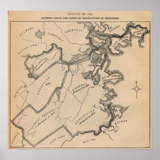 Boston Annexations Poster