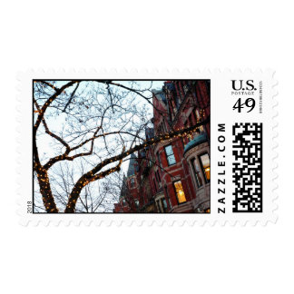 Boston architecture postage stamps