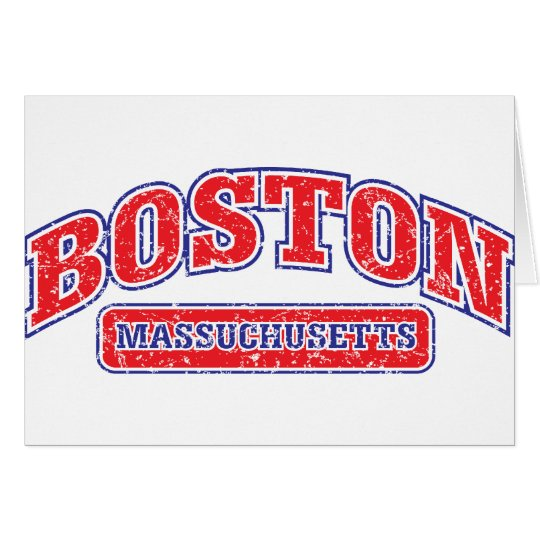 Boston Athletic Design Card