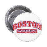 Boston Athletic Design Pinback Buttons