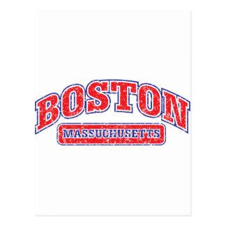 Boston Athletic Design Postcards