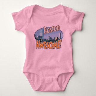 Boston Awesome Gear by Mudge Studios Baby Bodysuit