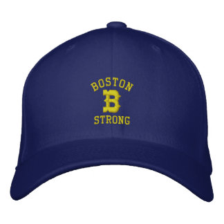 Boston B fuerte Gorras De Béisbol Bordadas