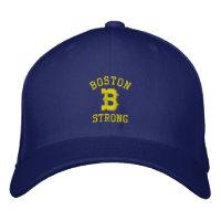 Boston B Strong Embroidered Baseball Cap