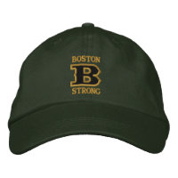 BOSTON B STRONG Embroidered Cap Embroidered Baseball Caps