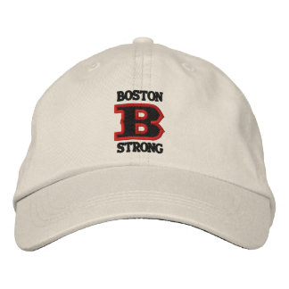 BOSTON B STRONG Embroidered Cap Embroidered Hats