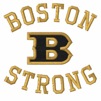 Boston B Strong Embroidered Embroidery Embroidered Jackets