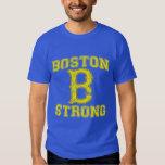 Boston B Strong Grunge Style T-Shirt