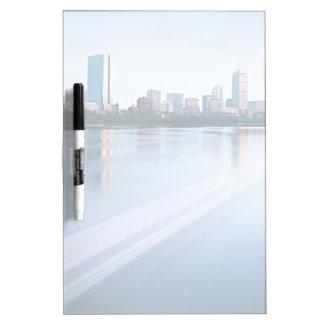 Boston Back bay across Charles River Dry Erase Boards