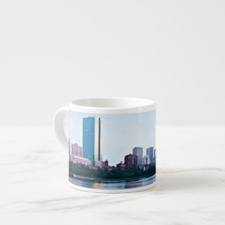 Boston Back bay across Charles River Espresso Cup