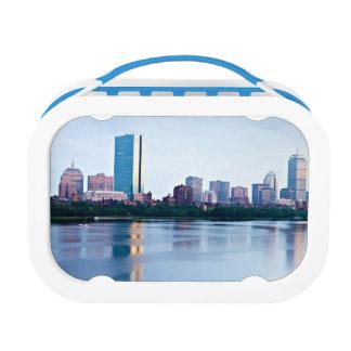 Boston Back bay across Charles River Lunchbox