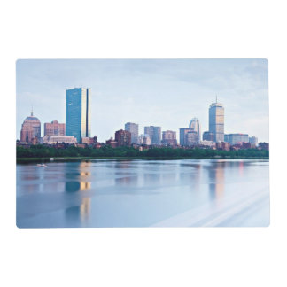 Boston Back bay across Charles River Placemat