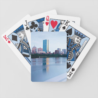 Boston Back bay across Charles River Deck Of Cards