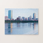 Boston Back bay across Charles River Puzzle
