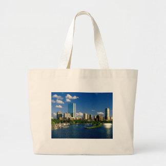 Boston Back Bay Area Large Tote Bag
