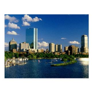 Boston Back Bay Area Postcard