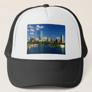 Boston Back Bay Area Trucker Hat