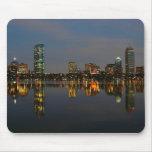 Boston Backbay at Night Mouse Pad