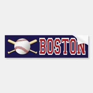 BOSTON BASEBALL BUMPER STICKER