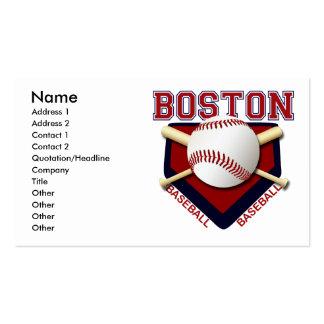 BOSTON BASEBALL BUSINESS CARDS
