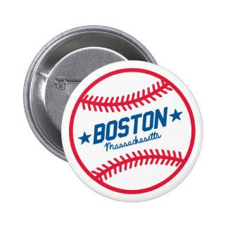 Boston Baseball Pinback Button