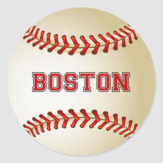 BOSTON BASEBALL CLASSIC ROUND STICKER